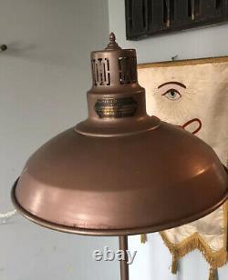 1930s Vintage Industrial Metal Deco Heavy General Electric Sun Lamp