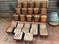 26 Vintage General Electric 8 Speakers Original Wood Wall Cabinets Very Good