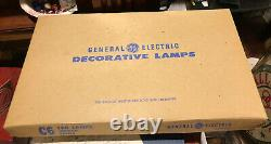 30 Vintage Sets of 4 White GE Indoor Series C-6 Christmas Lights 120 Bulbs NIB