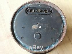 7-1/2 GE antique industrial Volt Meter Steampunk gauge Vtg. General Electric #2