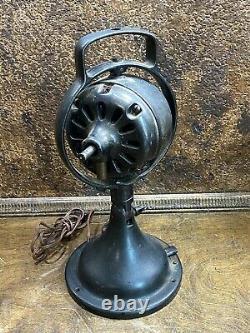 ANTIQUE General Electric FAN Motor BASE Form B 35062 Parts Or Restore WORKS