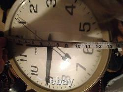 Accurate Time Keeping Made In USA Vintage General Electric Model 2012 Wall Clock
