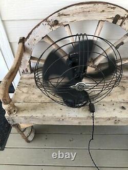 Antique 1920 General Electric Vortalex Fan 18 inch Form V
