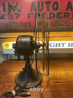 Antique GE General Electric 12 Electric Fan Brass Blade AUU
