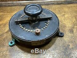 Antique General Electric Industrial Rheostat Vintage Speed Control Steampunk