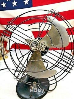 Antique Vintage General Electric Standing Fan AA100830 60 Cycle