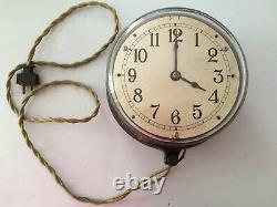 Antique Vintage Industrial C-8 General Electric Co. Clock 1920's