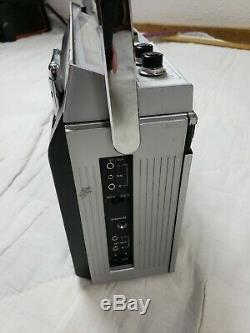 EUC Vintage General Electric Boombox 3-5256A Cassette Stereo Am/Fm Tested Works