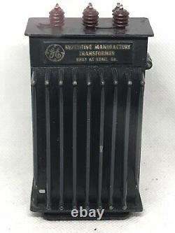 Extremely Rare Vintage 1954 GE General Electric Transformer Table Zippo Lighter