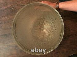 GE 93 General Electric Vintage Novalux Street Lamp Light Ripple Glass Globe