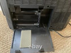 GE General Electric Model 7-2990A Portable 6 Band AM/FM Shortwave Radio Vintage
