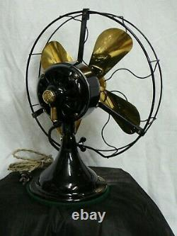 General Electric 12 Fan Nicely Restored Type Auu Non Osc