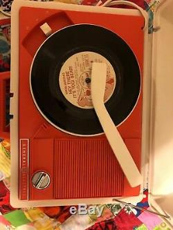 General Electric GE Solid State / Automatic Record Player VINTAGE 78/45/33/16 SP