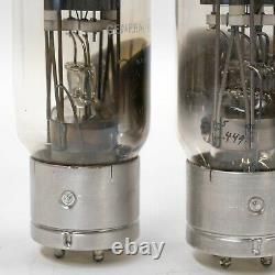 General Electric GE VT 4C Amplifier Tube with Boxes USA Vintage