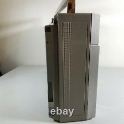 General Electric MLS3 Model 3-5259A BoomBox Radio Cassette Music AM FM VTG