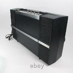 General Electric Wildcat Vintage GE Turntable Portable Record Player Radio WORKS