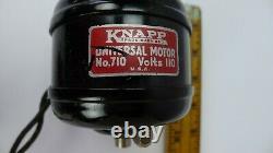 Knapp Leader 4 Electric Motor Antique vintage Toy No. 710 Universal Works