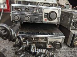 LOT OF 8 Vintage Sharp and General Electric GE CB Radios