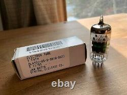 Lot of 4 Vintage NOS JAN 12AY7 Tubes by GE, General Electric, Great for Fender