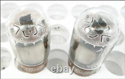 Matched Pair Vintage General Electric 7581A, Tested Amplitrex