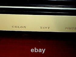 Nice Vintage 1978 Ge General Electric 10'' Color Television Tv