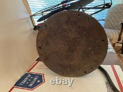 Original Vintage Ge Oscillating General Electric 12 Fan Brass Blades Type Aou A