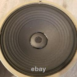 Pair VIntage General electric A1-403 8ohm woofers bass speakers 12 inches