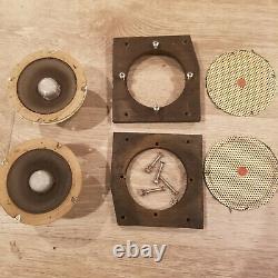 Pair VIntage General electric Ampex A1-404 tweeters 8ohm