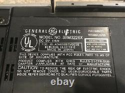 RARE Vintage General Electric 3XM3226X Boombox TV Radio Micro Cassette Working