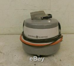 RARE Vintage General Electric V11C6 Canister Vacuum Cleaner withHose Tips & Bags