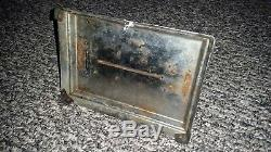 Rare 1920's Vintage General Electric GE Spider Web Metal Toaster Made in USA