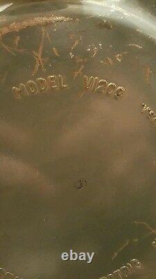 Rare General Electric V12c9 Canister Vacuum WORKS GE Vintage Free Pickup