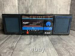 Rare Vintage General Electric GE 3-5614A AM/FM Radio Cassette Player Boombox