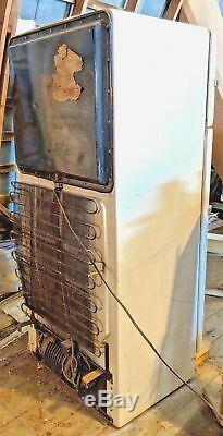 Rare Vintage General Electric (GE) Combination Custom Refrigerator / Freezer