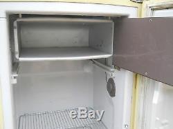 Retro Vintage 1958-1964 GE General Electric Refrigerator Frig Freezer RARE