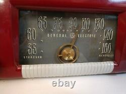 Tabletop Radio Antique Vintage Art Deco GE Model 202 General Electric Primeau