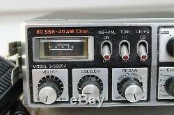 VINTAGE CB RADIO GENERAL ELECTRIC 3-5825A 40CH AM SSB Good Working Condition