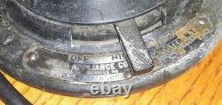 VINTAGE Delco General Motors Appliances Metal Fan FOR RESTORATION Collectible