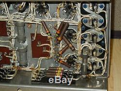 VINTAGE GE General Electric 8018168 Tube Amp Unit uses 4- 6 l6 G