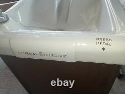 VTG General Electric Porcelain Top Free Standing Water Cooler Working Compressor