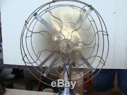Ventilatore General Electric Doppia Pala Vintage Epoca Old Double Fan Italy