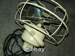 Vintage 10 GE General Electric Oscillating Desk Fan 100% tested works great