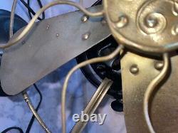 Vintage 1901 GE General Electric Fan 738987 110 Volt