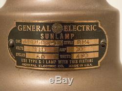 Vintage 1930's General Electric Floor Sun Lamp