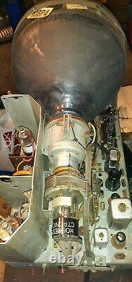 Vintage 1949 GE Tube Television Model No. 806 Tested Good CRT
