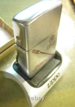 Vintage 1950's GE General Electric Aircraft Gas Turbine Engines ZIPPO LIGHTER