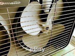 Vintage 1950s General electric Automatic Double Fan