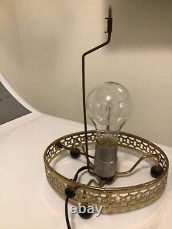 Vintage 1956 Econolite Corp Litho The General & John Bull Train Motion Lamp