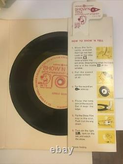 Vintage 1960s General Electric Show N Tell Phono Viewer with Tons of Stories 18