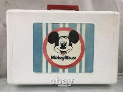 Vintage 1970's Mickey Mouse Record Player GE Youth Electronics Model 3122
